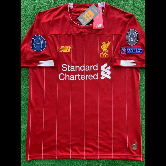 separation shoes 0b38d afc0a 2019/20 Liverpool FC soccer jersey Virgil Van Dijk NWT
